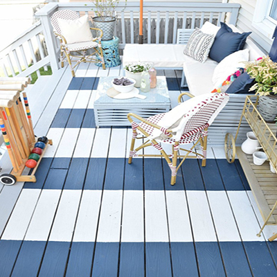 Small Painting Jobs like Decks and Outdoor Furniture