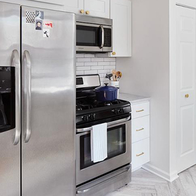 Installation and Repair of Major Kitchen Appliances and Washers and Dryers